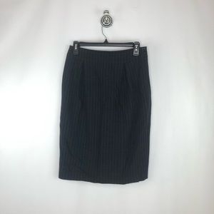 MaxMara Pinstripe Pencil Skirt Sz. 4
